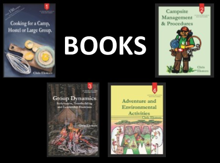 Books: Outdoor Education Resource Series - Outdoor Education Resource Book Series by Chris Eksteen. 